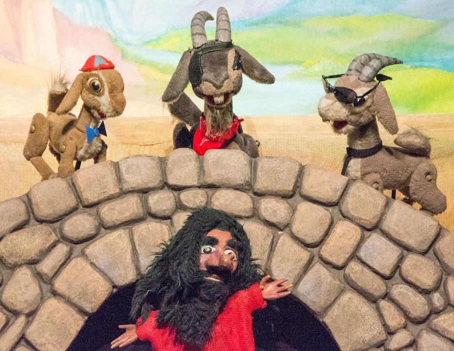 Three Billy Goats Gruff, Great Arizona Puppet Theater