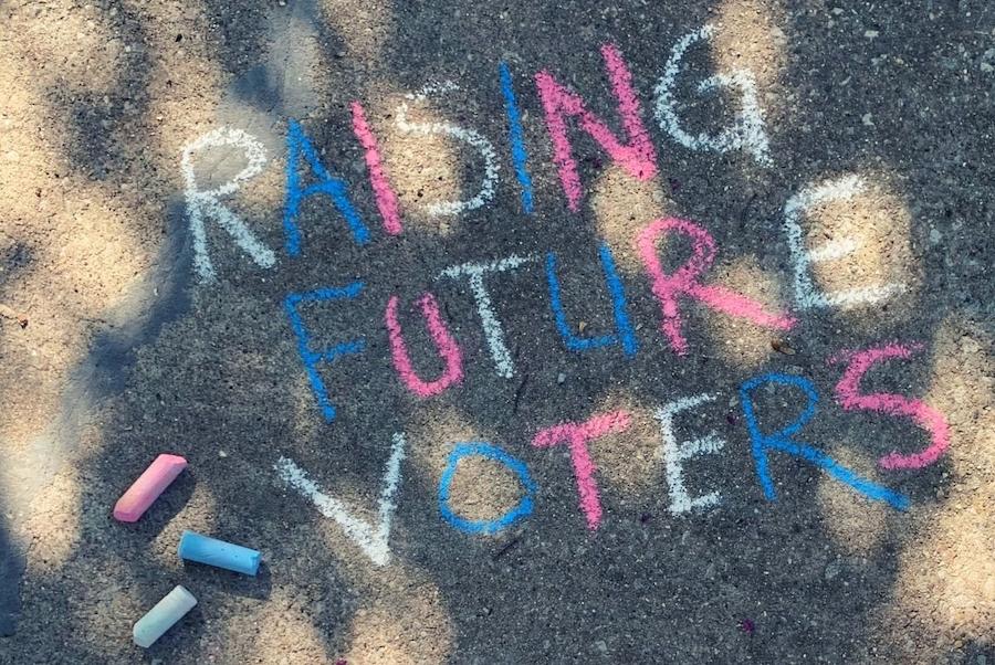#chalkthevote