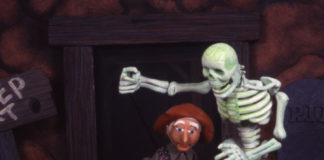 Trouble at Haunted Mountain, Great Arizona Puppet Theater, Halloween