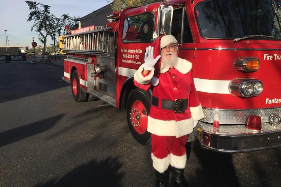 Santa Saturdays, Westgate Entertainment District