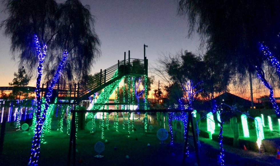 Vertuccio Farms, holiday lights, ice skating