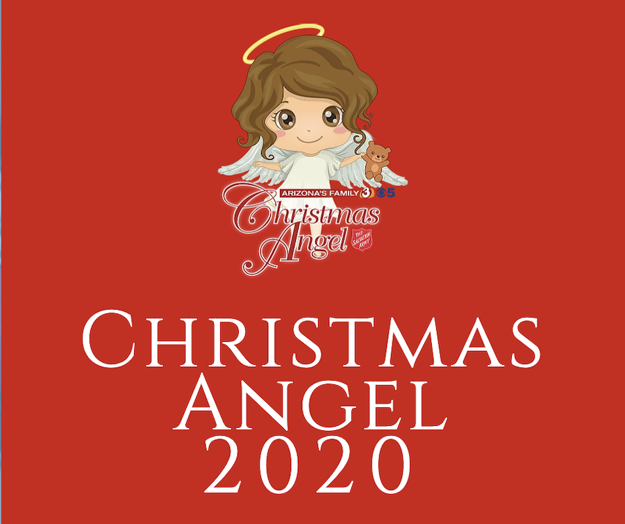 Christmas Angel, Salvation Army, Arizona's Family