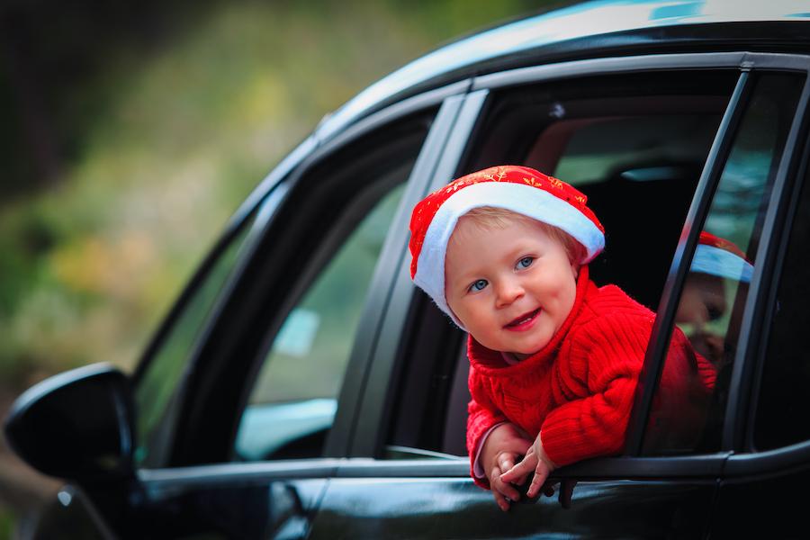 drive through, Christmas