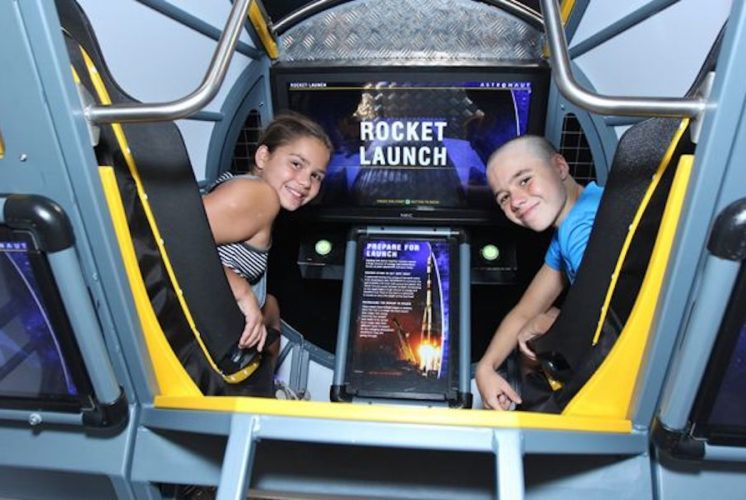 astronaut exhibit, Arizona Science Center