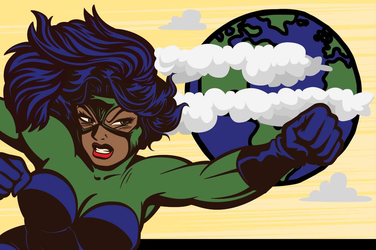 Environmental Super Hero