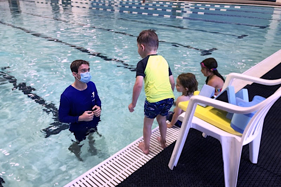 Valley of the Sun YMCA, free swim lessons