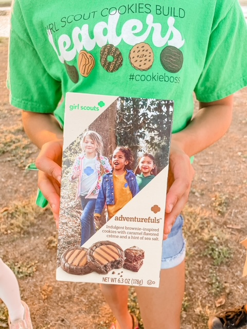Girl Scout New Adventurful Cookie